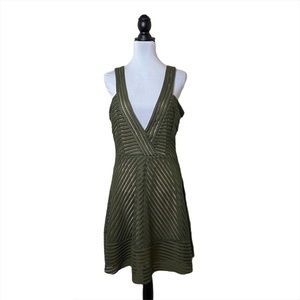 Alberta anticoli Made in Italy Fit and Flare Dress